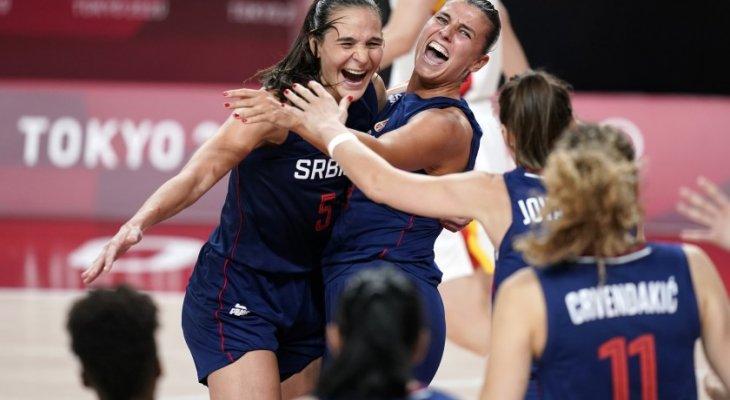 سيدات صربيا لكرة السلة الى نصف نهائي طوكيو 2020