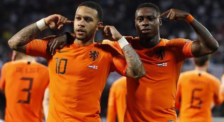 هولندا ستخوض النهائي الخامس في تاريخها
