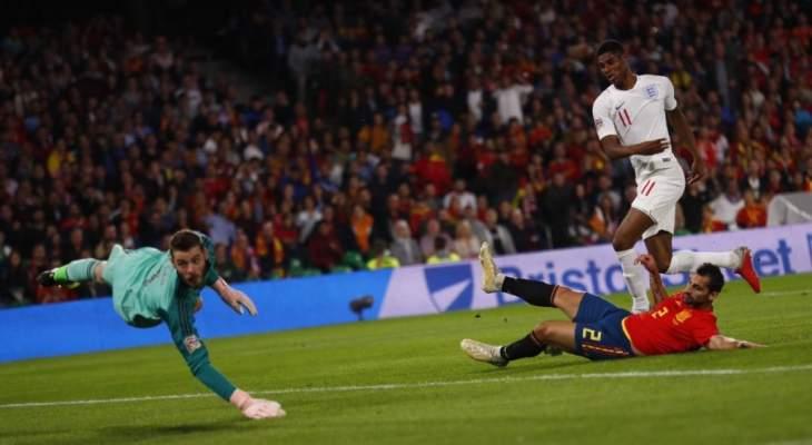 راشفورد يعترف بصعوبة اللقاء امام اسبانيا ويكشف السبب في تحقيق الفوز