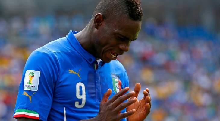 رسميا: استدعاء بالوتيلي إلى منتخب ايطاليا بعد غياب لأربعة أعوام
