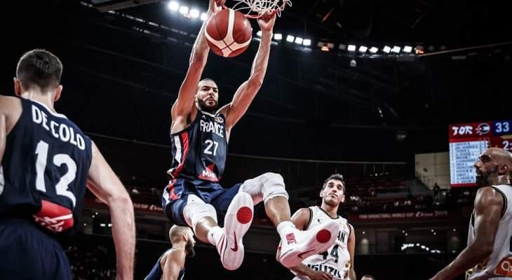 كأس العالم لكرة السلة: فوز كاسح لفرنسا على الأردن