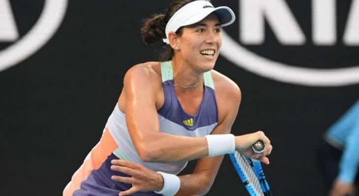 أستراليا المفتوحة: موغوروزا تهزم بيرتنز وتبلغ ربع النهائي