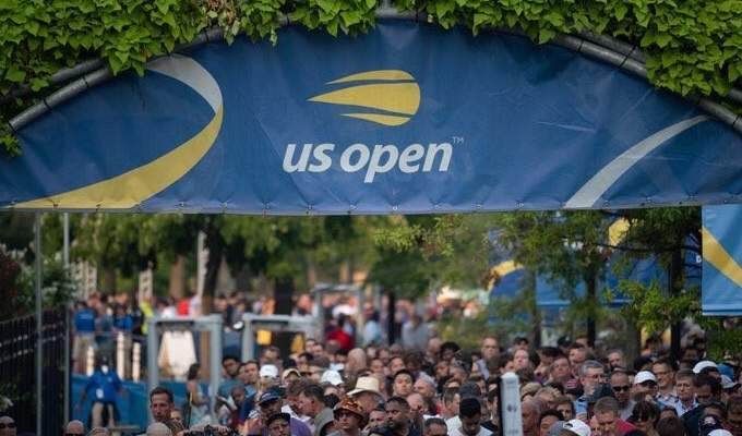 تغيير ارضية ملاعب بطولة اميركا المفتوحة