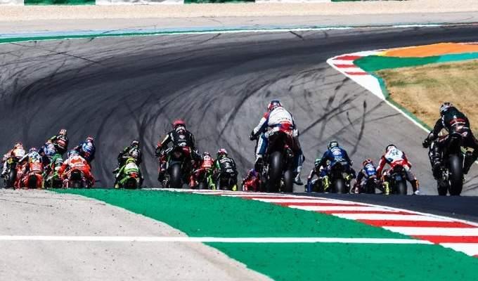 البرتغال تستضيف السباق الاخير في الموتو جي بي