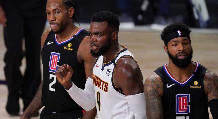 NBA: دنفر يُقصي كليبرز في المباراة السابعة