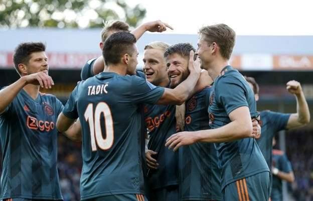 اياكس امستردام بطلا للدوري الهولندي لاول مرة منذ 2014
