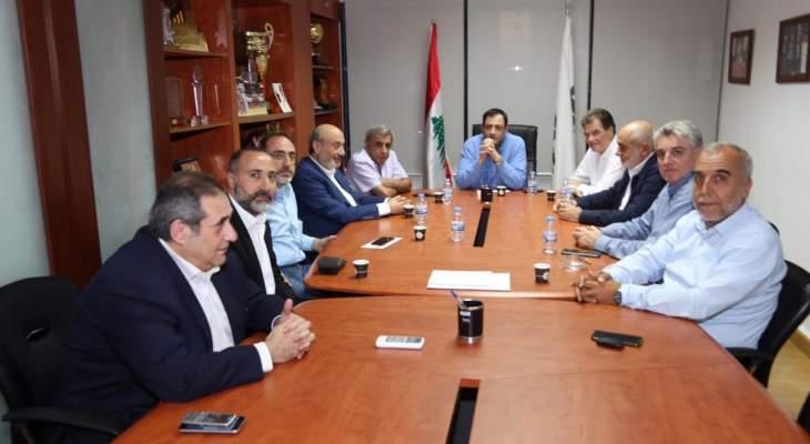 اجتماع مع أندية الدرجة الأولى برئاسة حلبي حول وضع كرة السلة اللبنانية