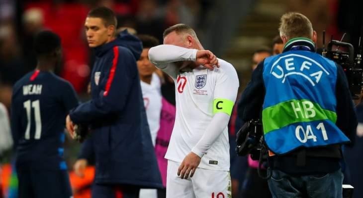 دموع روني تردع غاريث ساوثغيت عن انتقاد اداء إنكلترا
