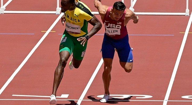 الجامايكي بارتشمنت يفاجئ هولواي ويحرز ذهبية 100 م حواجز في طوكيو