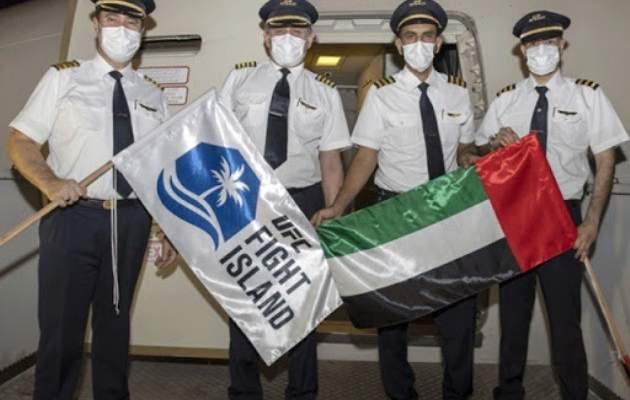 الاتحاد للطيران تُرحّب برئيس UFC في أبو ظبي