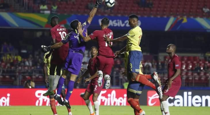 موجز الصباح: الارجنتين تتعادل مع الباراغواي، فوز صعب لكولومبيا على قطر وايطاليا تسقط امام بولندا