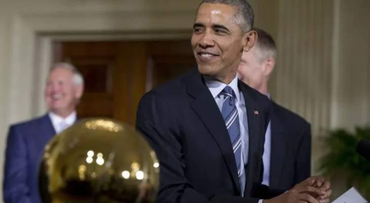 باراك اوباما يحضر إفتراضيًا مباراة ليكرز وهيت
