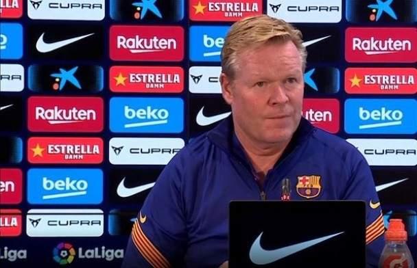 كومان يؤكد سعي برشلونة لضم غارسيا ومواجهة اشبيلية صعبة