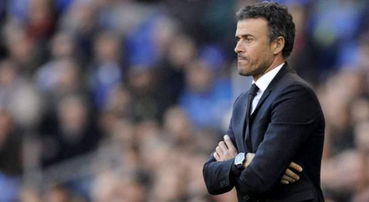 انريكي يعد بتطوير المنتخب الاسباني في الفترة المقبلة