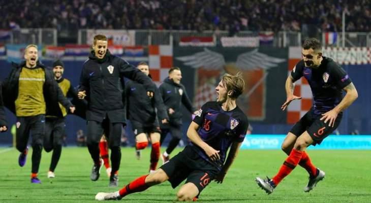 موجز الصباح: كرواتيا ترد إعتبارها أمام إسبانيا، روني يحمل شارة المنتخب للمرة الاخيرة وقمة منتظرة بين هولندا وفرنسا