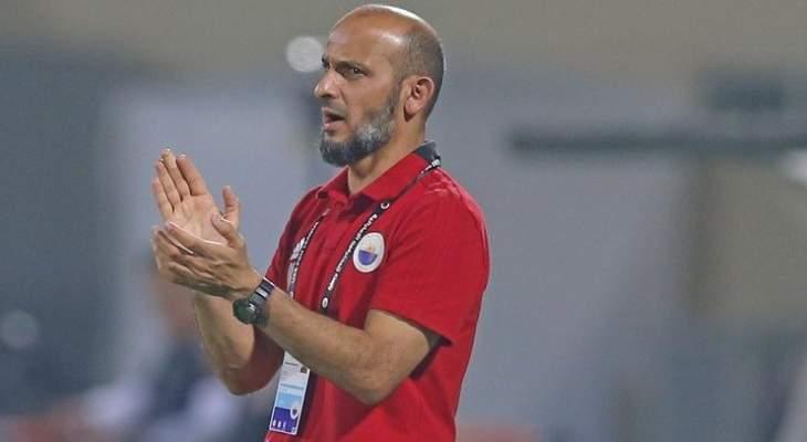 مدرب الشارقة يحذر لاعبيه من صعوبة مباراة عجمان