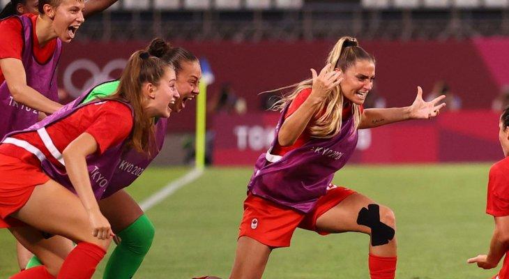 منتخب سيدات كندا لكرة القدم الى نهائي طوكيو 2020