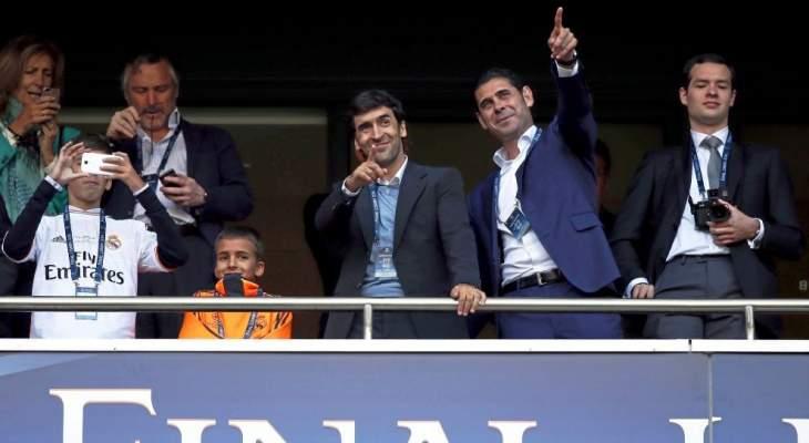 هييرو: راؤول لديه كل شيء ليصبح مدرب ريال مدريد