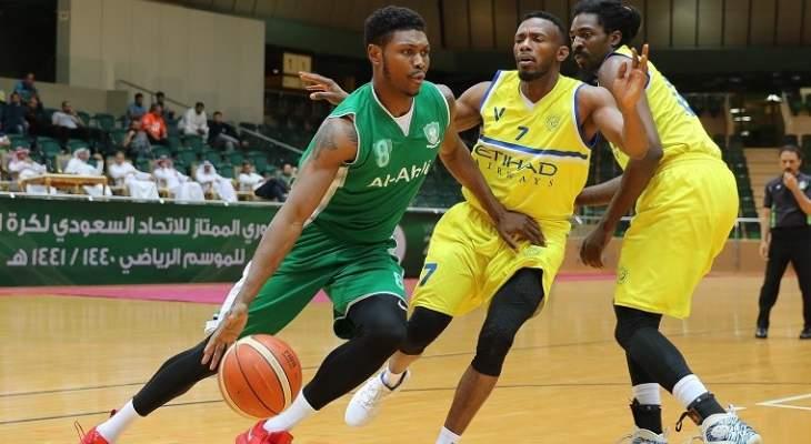 أحد والأهلي إلى نهائي الدوري السعودي لكرة السلة
