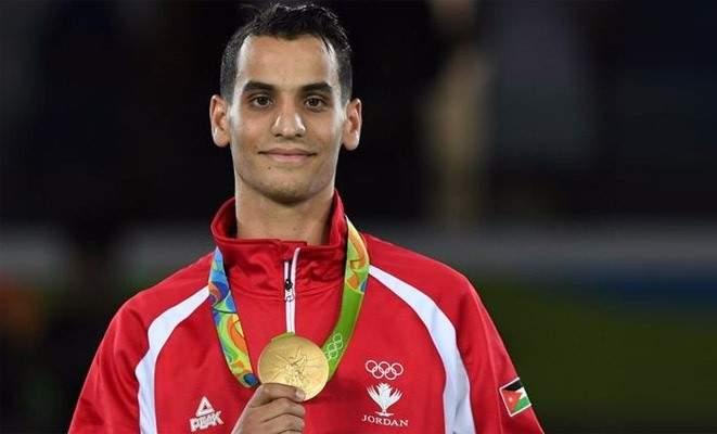اعتزال البطل الأولمبي الأردني في التايكواندو أحمد أبوغوش