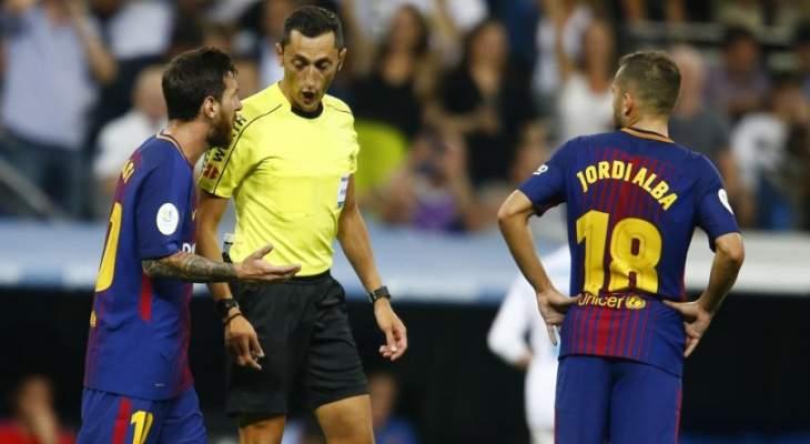 الكشف عن حكم لقاء برشلونة وليفانتي في اياب ثمن نهائي الكأس