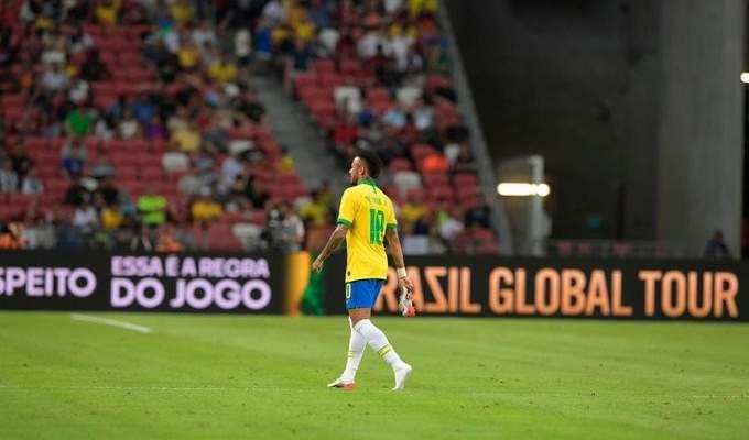 البرازيل تسقط مجدداً في فخ التعادل الايجابي وتخسر نيمار بسبب الاصابة