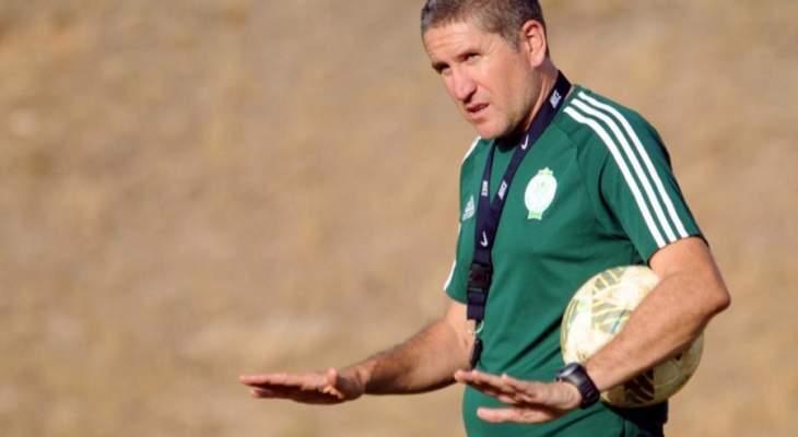 الرجاء البيضاوي المغربي يستغني عن المدرب غاريدو