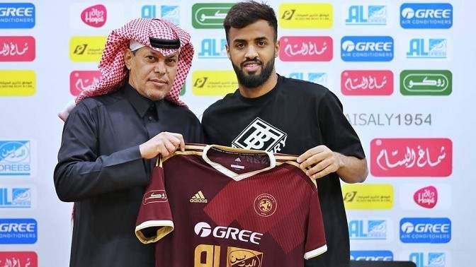 إصابة لاعب الفيصلي السعودي بكورونا