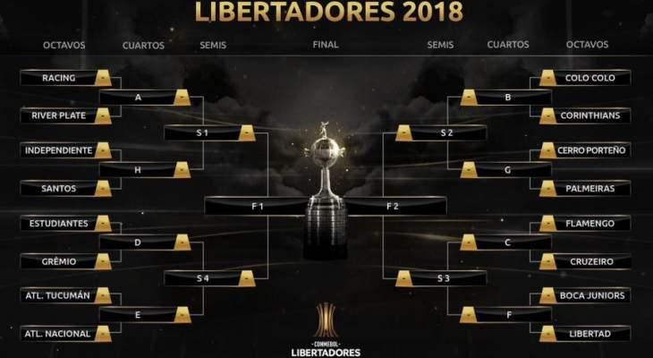 قرعة كوبا ليبرتادوريس تفرز مباريات نارية