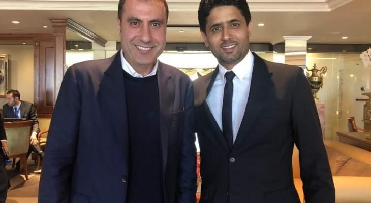 ناصر الخليفي وحسين ياسين في صورة واحدة