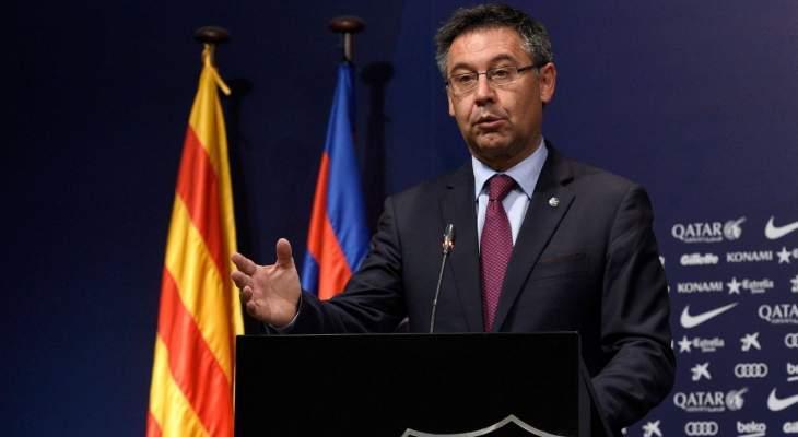 رئيس برشلونة يتجاهل الإجتماع مع ناصر الخليفي!
