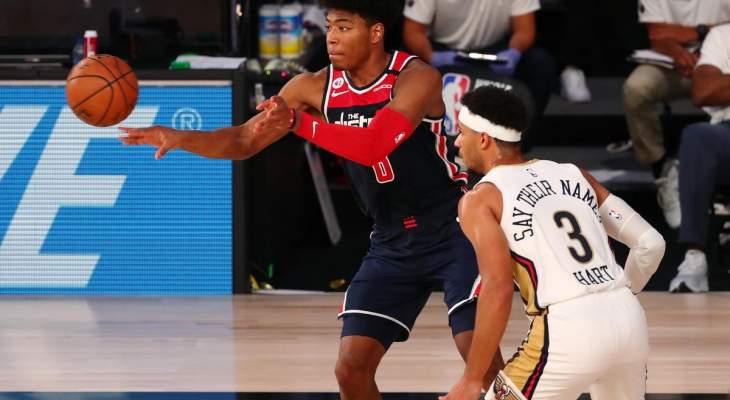 واشنطن ويزردز يفشل بحسم تأهله الى نهائيات NBA