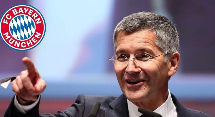 رئيس بايرن ميونيخ يتحدث عن تمديد عقد المدرب فليك ومولر