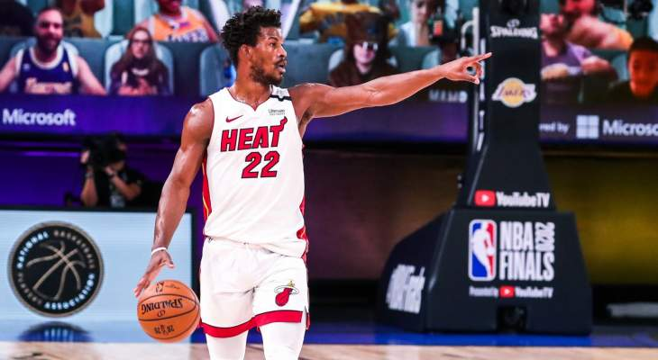 NBA: ميامي يفوز في المباراة الخامسة ويؤجل فوز ليكرز باللقب