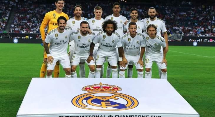 ريال مدريد يتجه لتخفيض رواتب اللاعبين والموظفين بسبب كورونا
