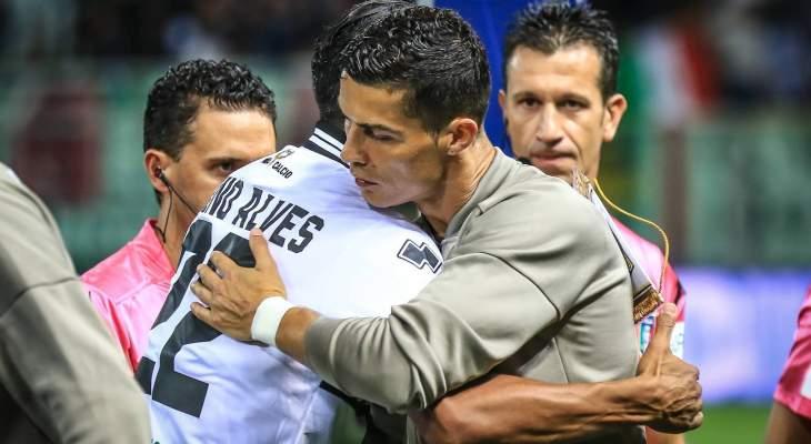 برونو الفيس: رونالدو لا يستطيع التفوق عليّ بالكرات الهوائية