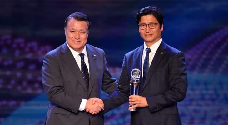 مدرب كوريا الجنوبية يحسم جائزة الافضل في اسيا لعام 2019