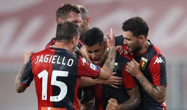 جنوى يواجه هيلاس فيرونا بغياب 7 لاعبين مصابين بالكورونا