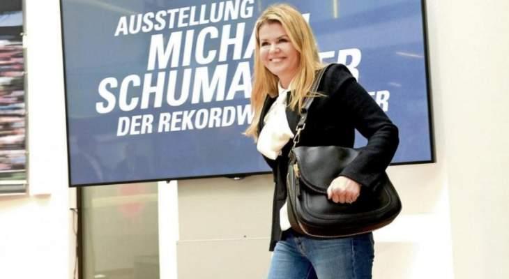 كورينا شوماخر لجماهير مايكل: شكراً لصداقتكم واحترموا امنيات مايكل
