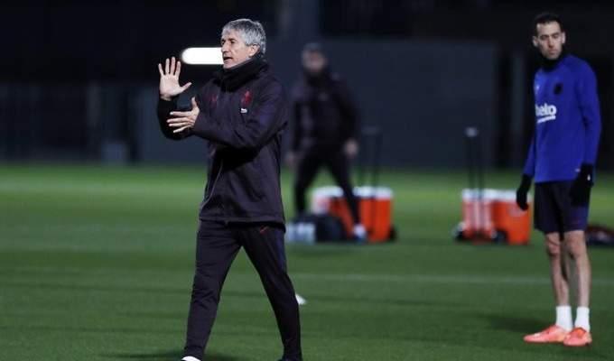 سيتيين يقرر تغيير روتين التحضير للمباريات في برشلونة