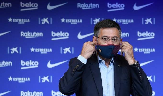 برشلونة يطلب تاجيل التصويت على سحب الثقة من بارتوميو