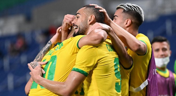 منتخبا اليابان والبرازيل لكرة القدم الى نصف نهائي طوكيو 2020
