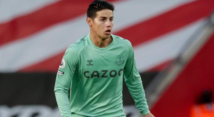 انشيلوتي: رودريغيز لن يشارك في مباراة نيوكاسل