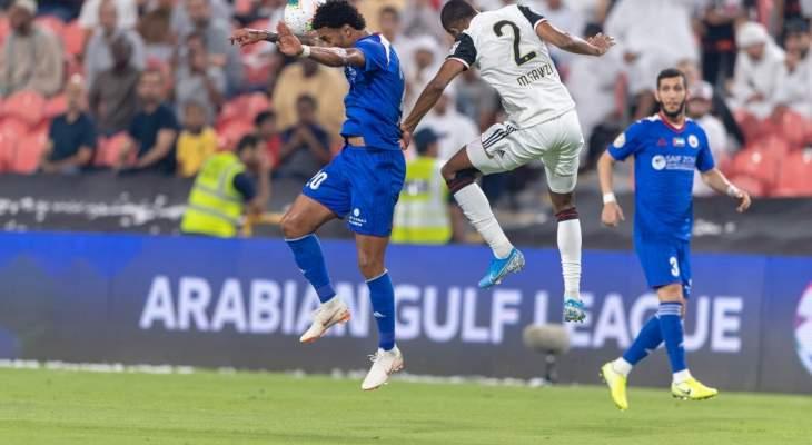 الدوري الاماراتي: الشارقة يستعيد الصدارة بفوز على الجزيرة