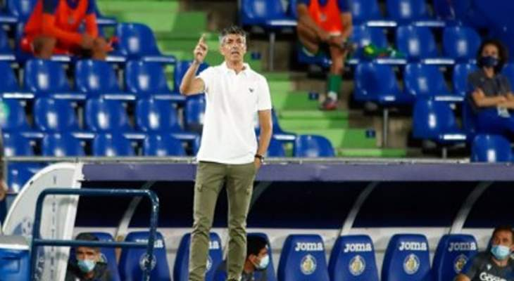 مدرب سوسييداد: فريقي قدّم مباراة قوية