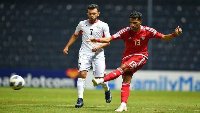 كأس آسيا تحت 23 عامًا: تأهل الامارات والاردن بعد تعادلهما الايجابي