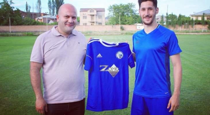 خاص- إيكر يتطلع للمشاركة بالدوري الأوروبي ويطمح لتمثيل منتخب لبنان الأول