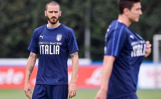 رقم مميز للمدافع بونوتشي مع المنتخب الايطالي