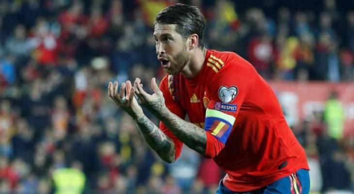 ريال مدريد ومنتخب إسبانيا يحتفلان بعيد ميلاد راموس إفتراضياً بسبب كورونا