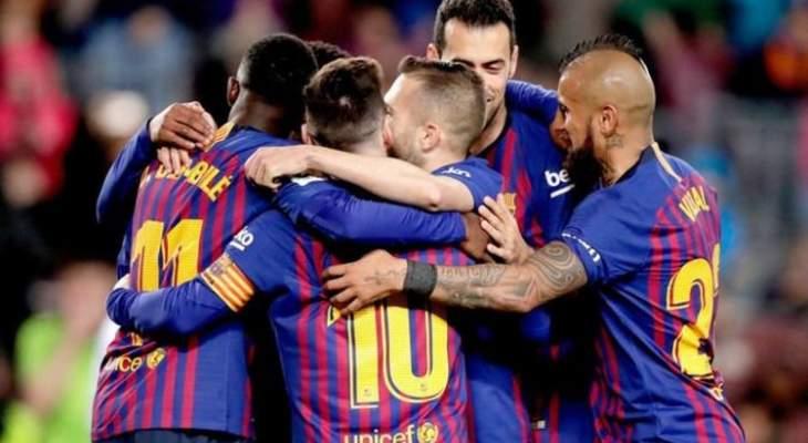 نجوم برشلونة يرحبون بعودة نيمار